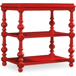 Sanctuary Red Chairside Table