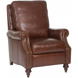 Conlon Brown Leather Recliner