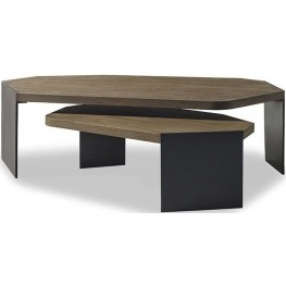 Jasper Nutmeg Nesting Table Set of 2