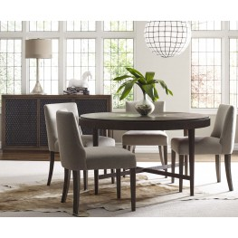 Jasper Nutmeg Round Dining Room Set