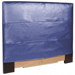Shimmer Sapphire King Slipcovered Headboard