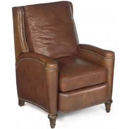 Rylea Light Brown Leather Recliner