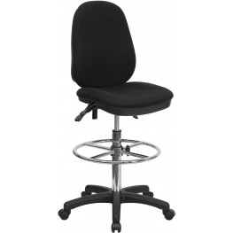Ergonomic Multi Functional Triple Paddle Drafting Stool (Min Order Qty Required)