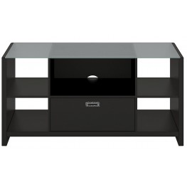 New York Skyline Modern Mocha Credenza / TV Stand