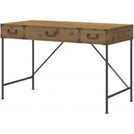 """Ironworks Vintage Golden Pine 48"""" Writing Desk"""