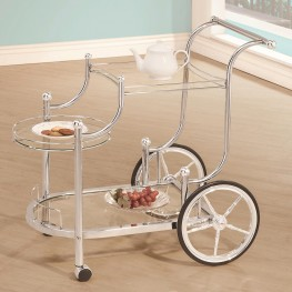 910076 Wheeled Serving Cart