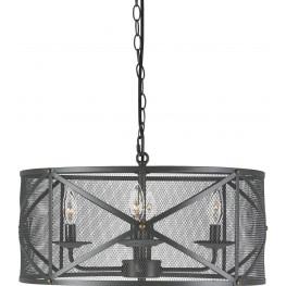 Jovani Charcoal Metal Pendant Light