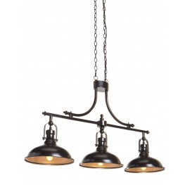 Joella Bronze Metal Pendant Light