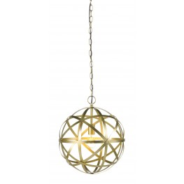Jedidiah Gold Metal Pendant Light