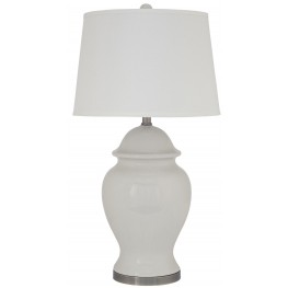 Darena Cream Ceramic Table Lamp