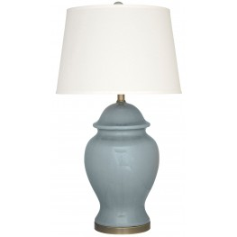 Darena Blue Ceramic Table Lamp