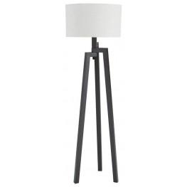 Dark Bronze Metal Floor Lamp