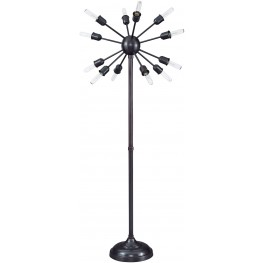 Amnon Bronze Metal Floor Lamp