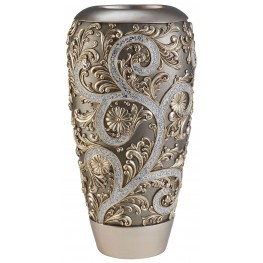 Estelle Champagne Silver Decorative Vase Set of 2