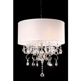 Sophy Ivory Hanging Crystal Ceiling Lamp