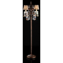 Juliet Hanging Crystal/Glass Ornament Floor Lamp