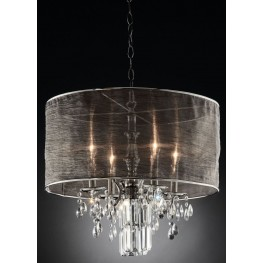Gina Shear Hanging Crystal Ceiling Lamp