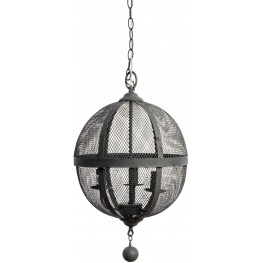 Stefan Dark Gray Ceiling Lamp
