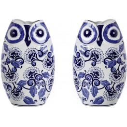 Erling Blue Decorative Vase Set Of 2