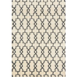 Lane Warm Quatrefoil Large Rug