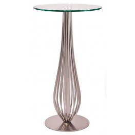 "Lara 27"" Round Bar Table"