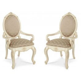 Lavelle Blanc Arm Chair Set of 2