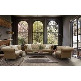 Barstow Sand Fabric Living Room Set