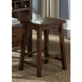 Cabin Fever Sawhorse Barstool Set of 2