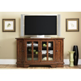 Cabin Fever Adjustable Shelf TV Stand