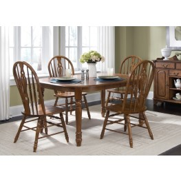 Old World Oval Leg Dining Set