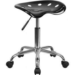 Vibrant Black Tractor Seat Stool (Min Order Qty Required)