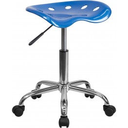 Vibrant Bright Blue Tractor Seat Stool (Min Order Qty Required)