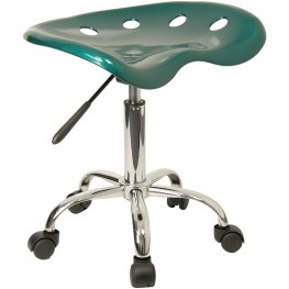Vibrant Green Tractor Seat Stool