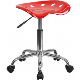 Vibrant Red Tractor Seat Stool (Min Order Qty Required)