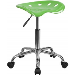 Vibrant Spicy Lime Tractor Seat Stool (Min Order Qty Required)