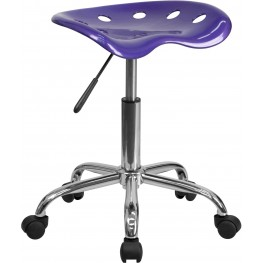 Vibrant Violet Tractor Seat Stool (Min Order Qty Required)