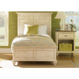 Ocean Isle Twin Panel Bed