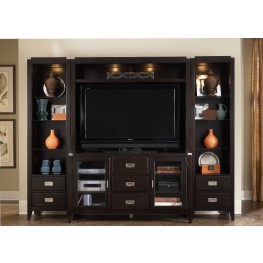 Harbor Town Entertainment Wall Unit