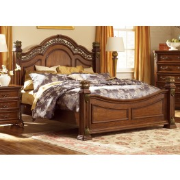 Messina Estates Queen Poster Bed