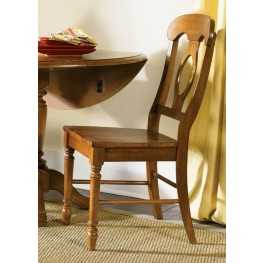 Low Country Bronze Napoleon Back Side Chair Set of 2