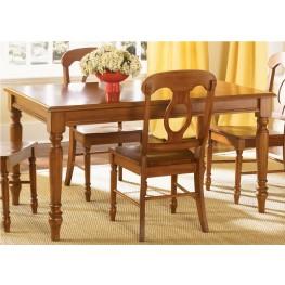 Low Country Bronze Rectangular Leg Table - Liberty Furniture