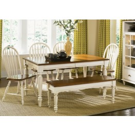 Low Country Sand Extendable Dining Room Set