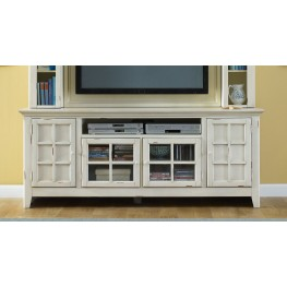 New Generation White TV Stand