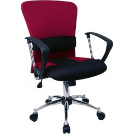 Burgundy Office Chair