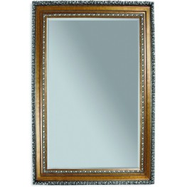 Amadeus Gold Leaf Leaner Mirror