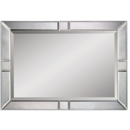 Barbarella Wood Frame Wall Mirror