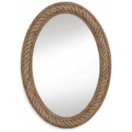 Jute Rope Wall Mirror