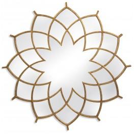 Baldwin Antique Gold Leaf Wall Mirror