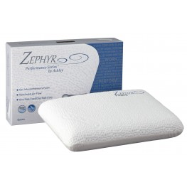 Zephyr Prime White Gel Memory Foam Pillow Set of 4
