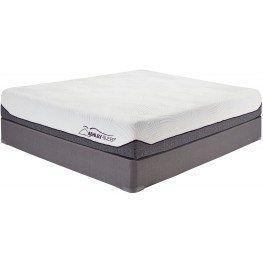 10 Inch Memory Foam White Twin Mattress